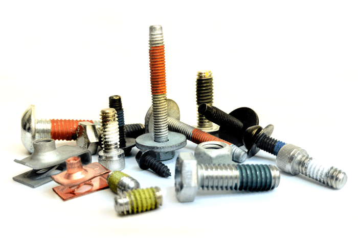 Fasteners with Coatings